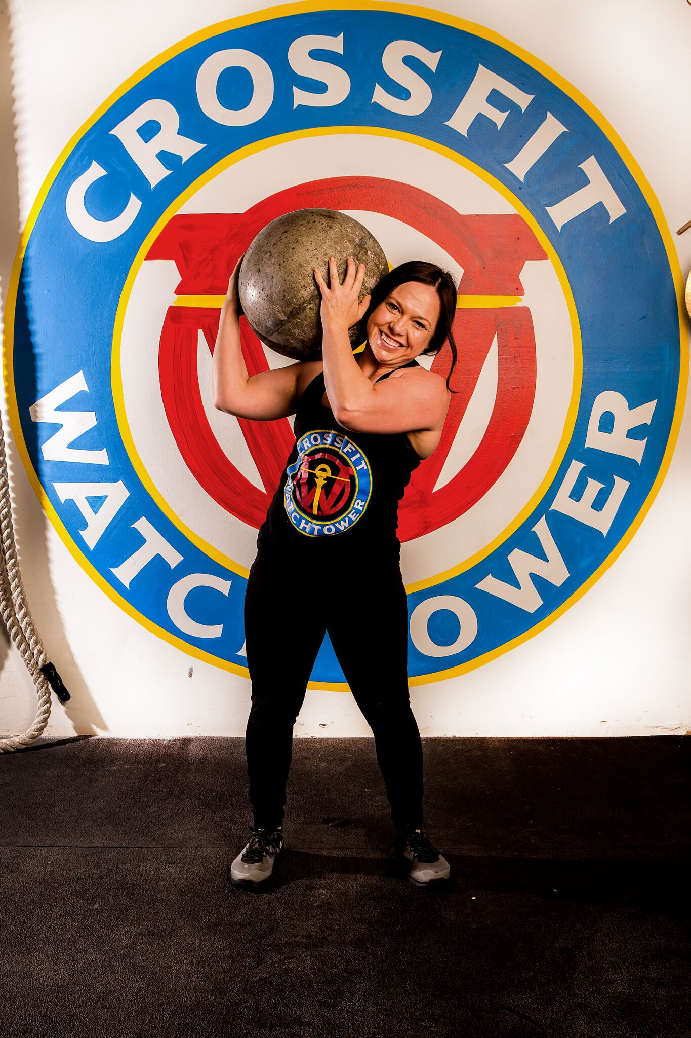 Megan John coaches CrossFit in Denver at CrossFit Watchtower in Englewood CO