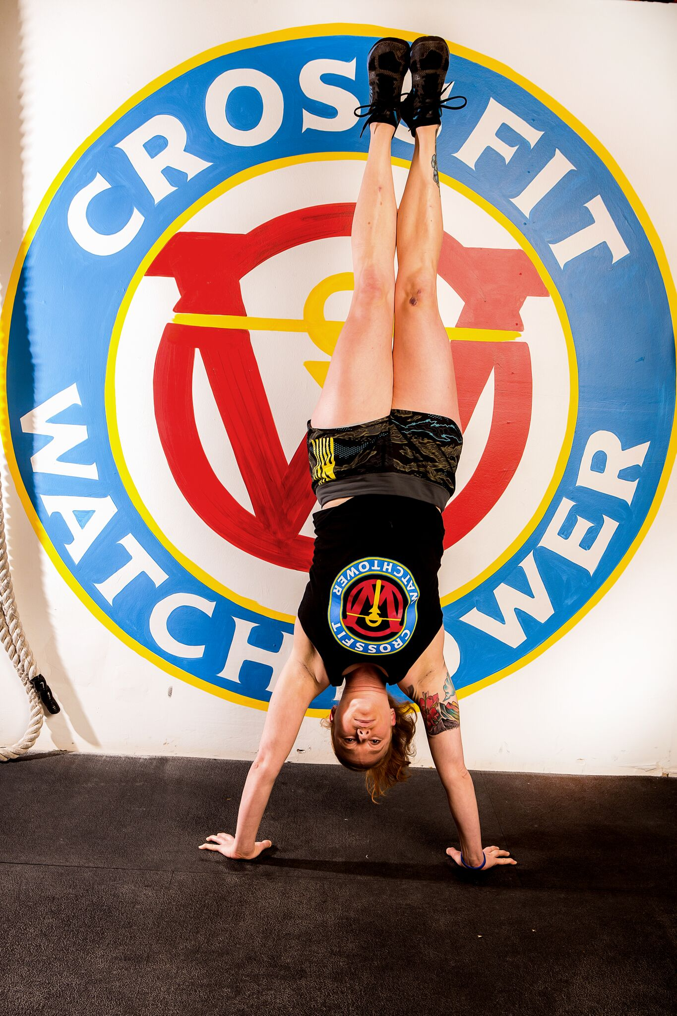 Lena Koschmann Coaches CrossFit in Denver at CrossFit Watchtower in Englewood CO