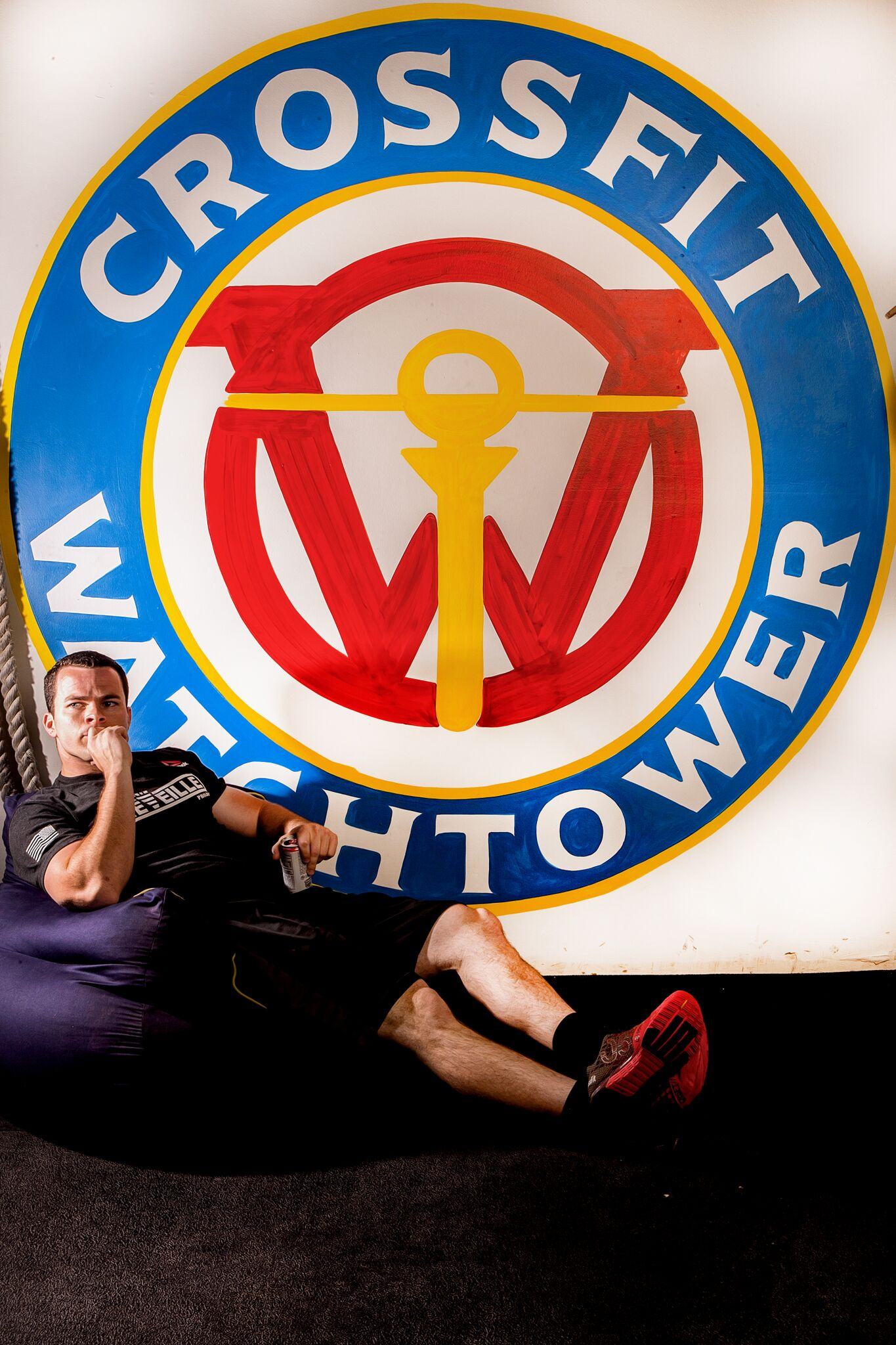 Nick Therian coaches CrossFit in Denver at CrossFit Watchtower in Englewood CO